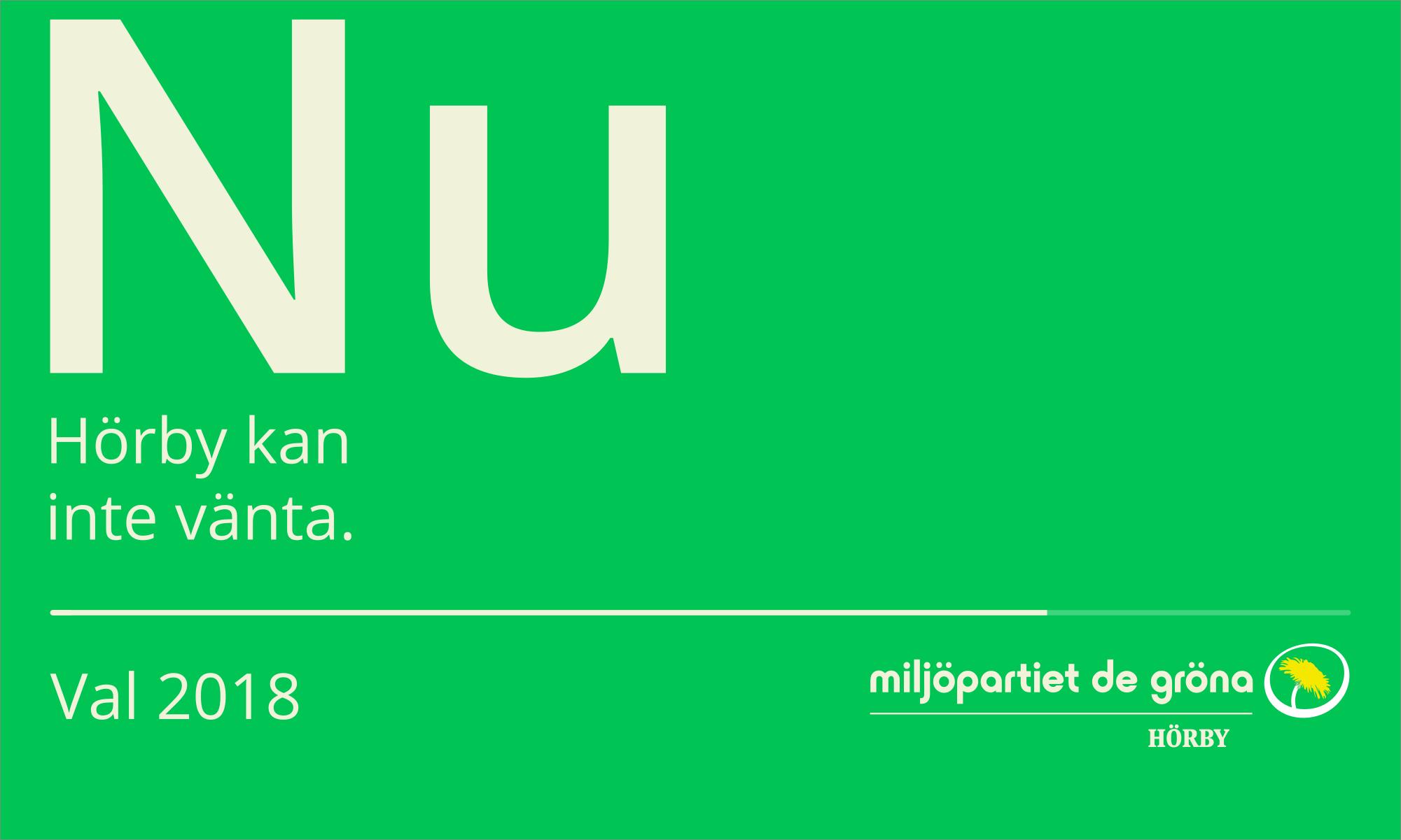 Miljöpartiet det gröna i Hörby